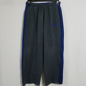 Adidas Mens Medium Gray Joggers Sweatpants Pants